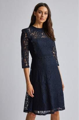 Dorothy Perkins Womens Long Sleeve Talulah Dress - Blue