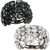 Faceted Manchette Cuff by Vera Wang