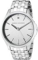 Armani Exchange Men's AX2170 Silver Watch