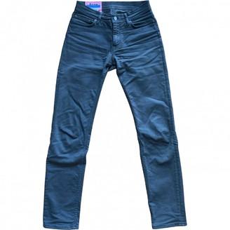 Acne Studios \N Khaki Cotton - elasthane Jeans