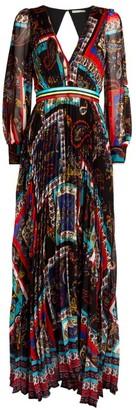 Alice + Olivia Alice+Olivia Cheney Maxi Dress