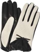 Agnelle Houndstooth Checkered Gloves