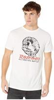 Original Retro Brand The Roscoes Chicken Waffles Vintage Cotton Tee (Off-White) Men's Clothing