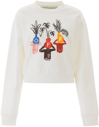 Off-White Off White Graphic Print Sweatshirt