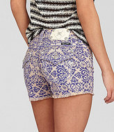Miss Me Printed Shorts