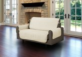 Linenstore Quilted Microfiber Pet Dog Couch Sofa Furniture Protector Cover