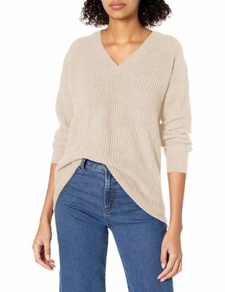 Jessica Simpson Women's Seana V Neck Tunic Sweater