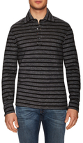 Isaia Wool Striped Polo