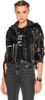 R 13 Hooded Moto Jacket