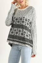 Hem & Thread Snowflake Sweater