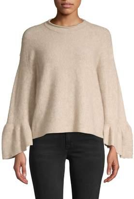 3.1 Phillip Lim Alpaca & Wool Blend Ruffle Cuff Sweater