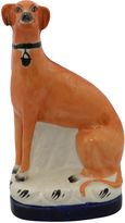 One Kings Lane Vintage Antique Staffordshire Greyhound