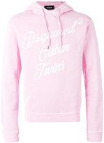DSQUARED2 Caten Twins hoodie - men - Cotton - L