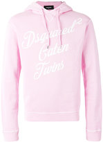 DSQUARED2 Caten Twins hoodie - men - Cotton - XS