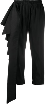 Alchemy Ruffle Cropped Trousers