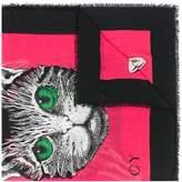 Gucci Cat print scarf