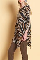 Clara Sunwoo Zebra Swirl Tunic