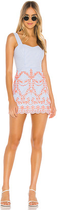 Tularosa Ari Embroidered Dress