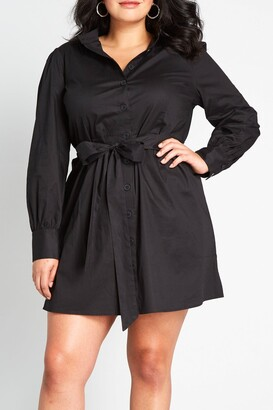 ModCloth A Casual Vision Shirt Dress