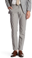 Brooks Brothers Glen Plaid Flat Front Trouser