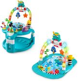 Baby Einstein Baby EinsteinTM 2-in-1 Lights & Sea Activity Gym & Saucer