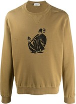 Lanvin Mother and Child print sweatshirt