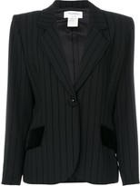 Saint Laurent Pre Owned striped blazer