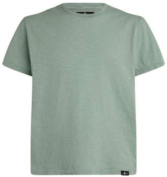 7 For All Mankind Cotton T-Shirt