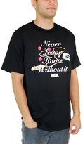 DGK Men's Never Leave T Shirt Black L