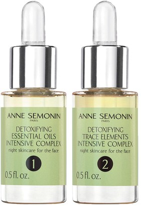 ANNE SEMONIN Two 15ml Detoxifying Intensive Complex