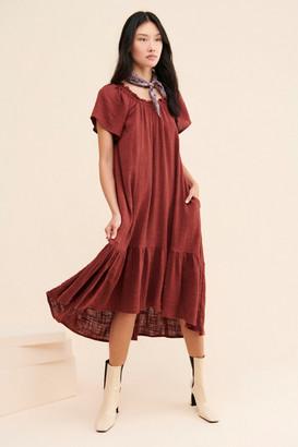 Maeve Selah High-Low Maxi Dress