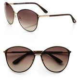 Tom Ford Penelope Metal Cat Eye Sunglasses