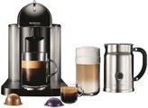 Nespresso VertuoLine Coffee and Espresso Maker with Aeroccino Plus Milk Frother - Black