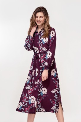 Hide The Label Acacia - PURPLE PEONY PRINT