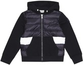 Moncler Enfant Quilted down hoodie