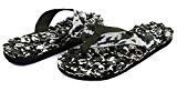 AutumnFall® Summer Men's Camouflage Massage Flip-Flop Beach Sandals (8.5, A)