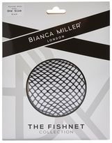 Biana miller Micro fishnet ankle socks