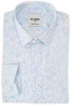 Ben Sherman Blue Paisley Dress Shirt