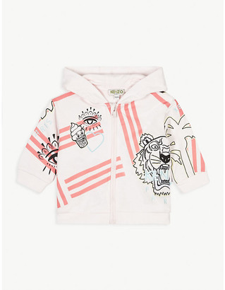 Kenzo Ice cream print cotton hoody 6-36 months
