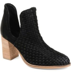 Journee Signature Women's Kevona Booties Women's Shoes