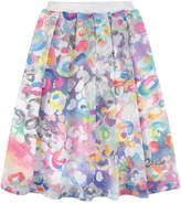 Simonetta Long printed skirt