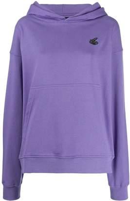 Vivienne Westwood patch logo hoodie