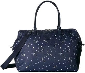 Lipault Paris Izak Zenou Medium Weekend Bag (Pose/Night Blue) Tote Handbags