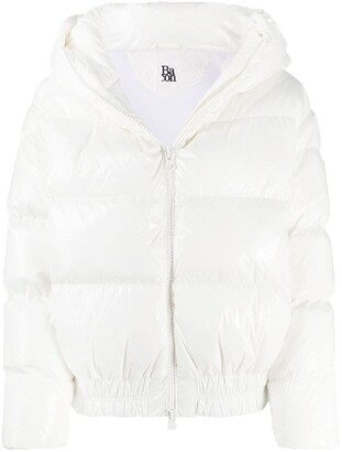 Bacon Cloud hooded down-padded jacket