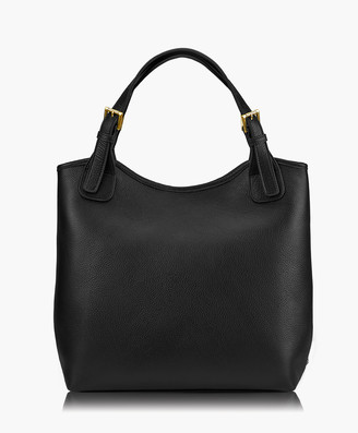 GiGi New York Olivia Shopper, Black Napa Luxe