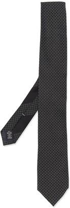 Ermenegildo Zegna Diamond Check Silk Tie