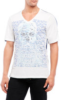 Cult of Individuality V-Neck Illusion Skull Tee