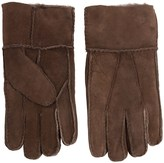 Portolano Patchwork Lambskin Gloves - Shearling (For Men)