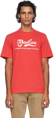 Martine Rose Red Probably The Best T-Shirt