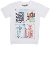 Officina51 OFFICINA51 PHOTO-REAL-PRINT T-SHIRT-WHITE SIZE 7